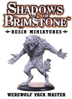 Shadows of Brimstone: Resin Special Enemy Werewolf Pack Master LIMITED PREVIEW