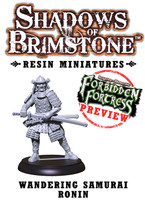 Shadows of Brimstone: Resin Special Wandering Samurai Ronin LIMITED PREVIEW
