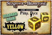 Shadows of Brimstone: Yellow Peril Dice (Set of 2)