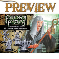 SOBS: Forbidden Fortress Alternate Gender Hero Miniatures LIMITED PREVIEW