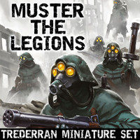 Muster the Legions - Extra Sets of Plastic Miniatures from the Trederra OtherWorld Expansion *Minis Only*