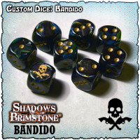 Shadows of Brimstone Custom Dice Set - Bandido
