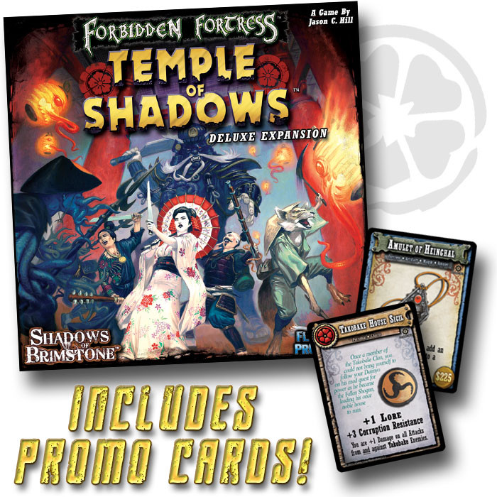 Forbidden Fortress: Temple of Shadows Deluxe Expansion