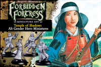Temple of Shadows Alternate Gender Hero Miniatures