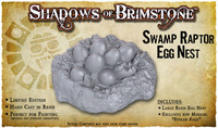 Shadows of Brimstone: Swamp Raptor Egg Nest Resin LIMITED EDITION