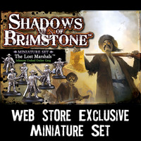 Shadows of Brimstone: Lost Marshals Miniature Set