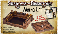 Shadows of Brimstone: Mining Lift Resin LIMITED EDITION