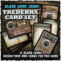 Shadows of Brimstone: Blank Cards - Trederra Card Set