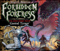 Shadows of Brimstone Forbidden Fortress: Gastral Tyrant XL Enemy Pack
