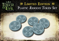 A Touch of Evil: Plastic Resolve Tokens Set   **Extremely Limited**
