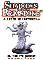 Shadows of Brimstone: Resin Special Enemy Ol' 'One Eye' Jackson