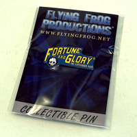 Fortune and Glory Enamel Pin
