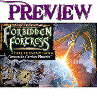 Shadows of Brimstone: Forbidden Fortress Onmorake Carrion Phoenix LIMITED PREVIEW