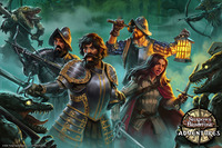 SOBS: Brimstone Adventures Valley of the Serpent Kings Poster/Art Print