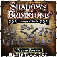 Shadows of Brimstone: Swamps of Death Revised Edition Miniatures Set