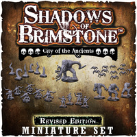 Shadows of Brimstone: City of the Ancients Revised Edition Miniatures Set