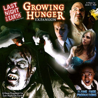 Last Night On Earth: Growing Hunger Expansion DINGED & DENTED