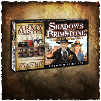 Shadows of Brimstone: Paint Set #1 Heroes of the Old West DINGED & DENTED