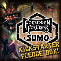 Forbidden Fortress KS SUMO Pledge Box - SPECIAL LIMITED OFFER!