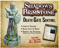Shadows of Brimstone: Death Gate Sentinel resin LIMITED EDITION