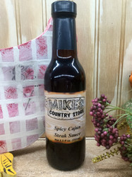 Mike's Spicy Cajun Steak Sauce - 8.5 fl oz.