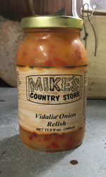 Mike's Vidalia Onion Relish - 11.5 fl oz.