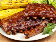 Mike's Smoked Spare Ribs