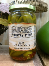 Mike's Pickled Okra