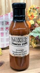 Mike's Georgia Southern Peach BBQ Sauce