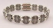 Double S Silver Connector - Silver