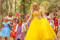 Tickets for A Faery Hunt Show and Fairy Birthday Party. Photo by Christi Anna Photography.