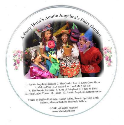 Auntie Angelica's Garden CD Downloadable Versioin