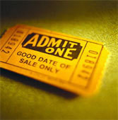 Tickets to your on-line performance.