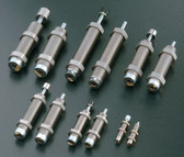 FK-1210L-C, Extension force: 9.8 N, Overall Length: 71mm, Cylinder Length: 53mm, Stroke: 10 mm