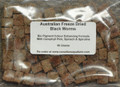 Bio Pigment Plus Colour Enhancing Black Worm Cubes 50g (BACK ORDERED)