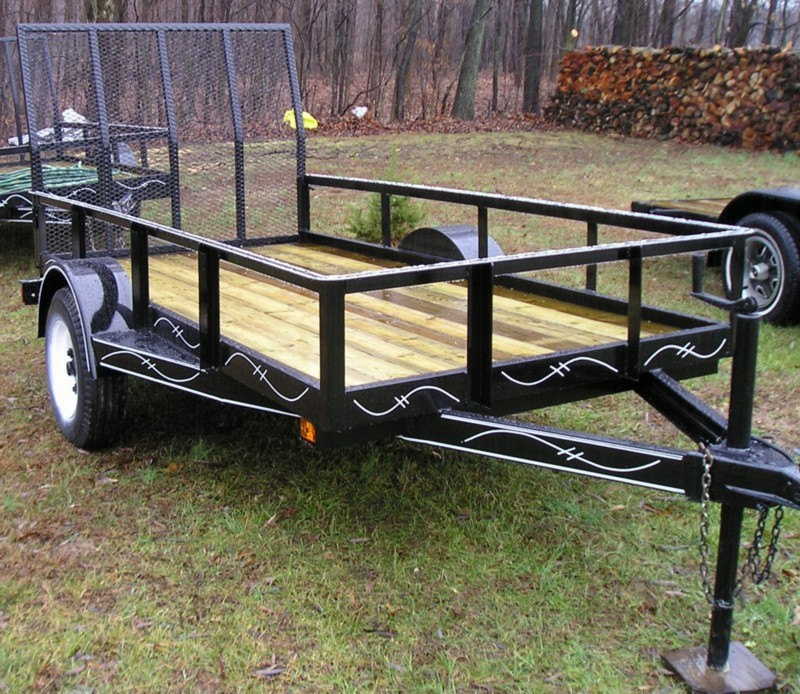 two wheeled trailer 5000lb capacity