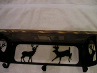 Deer Scene Wall Shelf Rustic home decor