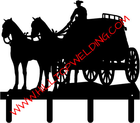 Stagecoach Tack Hanger Rack