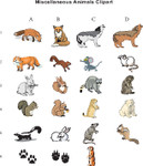 Miscellaneous Animal Clipart