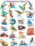 Watersports Clipart 2