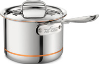 All-Clad Copper Core Irregular 2 qt. Sauce Pan with Lid