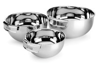 All-Clad First Quality Stainless 3 pc Mixing Bowl Set