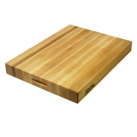 18 x 12 x 2.25'' Maple Edge Grain Cutting Board