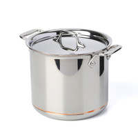All-Clad Copper Core Irregular 7 qt. Stock Pot with Lid