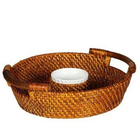 Bahama Collection Chip N' Dip Basket