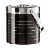 Stainless Steel Satin Double Walled Ice Bucket
