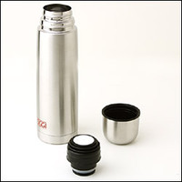 Lustre S/Steel 17-ounce Travel Flask