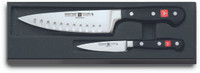 Wusthof  Classic 3.5'' Paring Knife and 6'' Hollow Ground Chef's Knife Set
