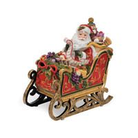 Regal Holiday Santa In Sleigh Musical