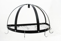 Rogar Half Dome Pot Rack with Grid